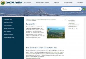 Contra Costa - Sustainability